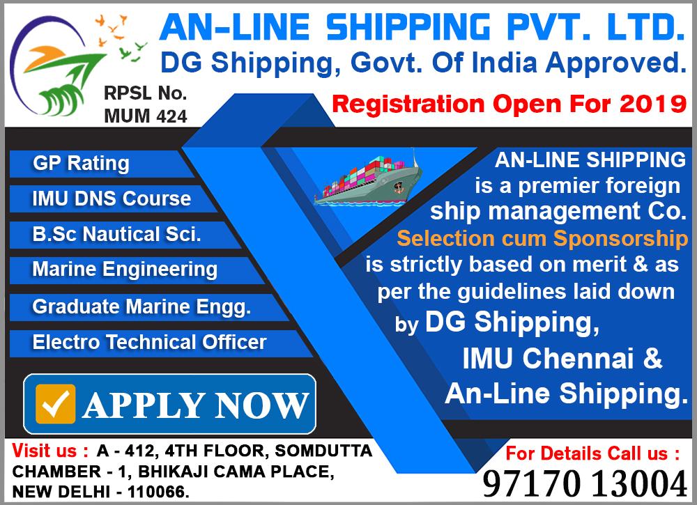 AN-Line Shipping Merchant Navy Notifications - 2019